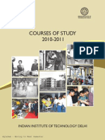 Courses of Study 201011