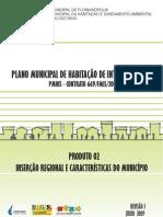 Plano Municipal de Interesse Social - Inserão regional e características do município