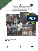 Asesoramiento Para La Definicion de Lineamientos Tecnicos y Busqueda de Opciones Para El Establecimiento de Centros de Rescate en Centro America y Republica a