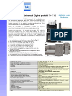 Durómetro portátil Universal TH110