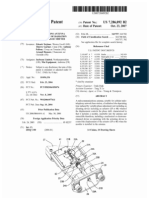 Radiocommunications antenna with misalignment of radiation lobe by variable phase shifter (US patent 7286092)