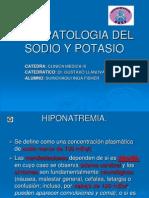 Fisiopatologia Del Sodio y Potasio