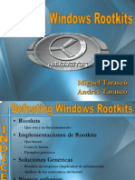 Defeating Windows Rootkits