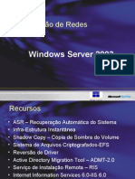 Aula 1- Administração de Redes Windows 2003 Server