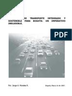 77.Ene16. Articulo Sobre Transporte Bogota Ultima Version