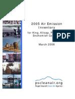 Air Emission Inventory 2005