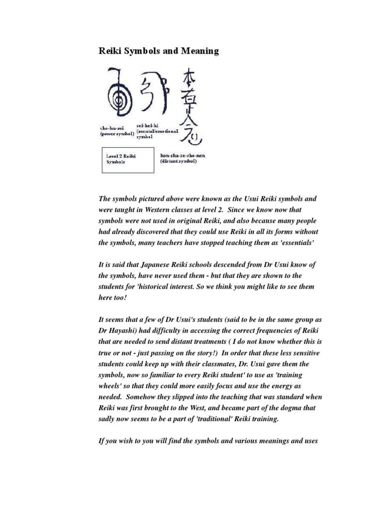 9 Reiki Symbols In Brief