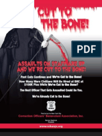 Coba Cut to the Bone Flyer