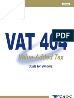 Template VAT404 Vendors