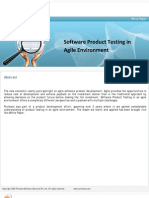 Proteans WP Software Product Testing Approach