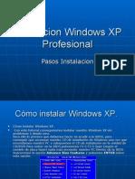 Instalacion Windows XP Profesional
