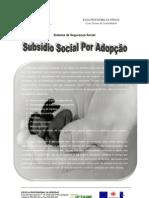 TRABALHO SISTEMA DE SEGURANÇA SOCIAL - ADOPÇÃO-