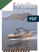 Malibu 23 LSV 2006 Manual