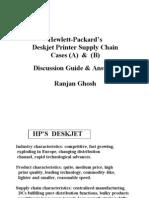 Hewlett-Packard Deskjet Printer Case - Discussion Guide