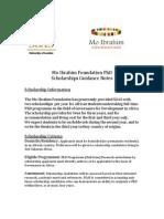Mo Ibrahim Scholarships