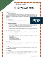 Concurso Literário Natal 2011- Regulamento