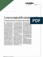 La nuova mappa delle aziende ospedaliere - Repubblica 08/11/2011