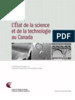 L'État de la science et de la technologie au Canada