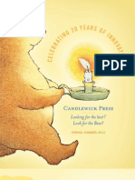 Candlewick Press Spring 2012 Catalog