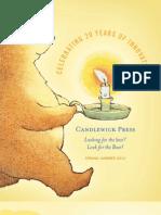 Candlewick Press Spring 2012 Catalog