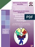 Programa del 2° Coloquio Estudiantil de Investigación en Psicologia