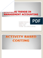 Emerging Trends in Management Accounting