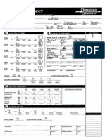 Ksenia Character Sheet