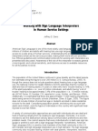 Working with sign language interpreters in human service settings