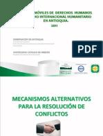 TALLER 11 MECANISMOS ALTERNATIVOS DE SOLUCIÓN DE CONFLICTOS