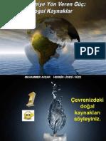 Doğal Kaynaklar (PPTminimizer)