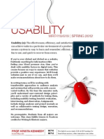 Usability Flyer S12