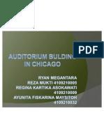 Auditorium Nuilding