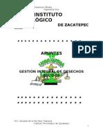 APUNTES GESTIÓN INTEGRAL DE DESECHOS SOLIDOS_ENE-JUN 2011