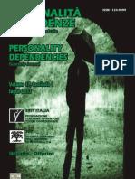 Personalità|Dipendenze n. 1 2011 - Indice, editoriale, recensione