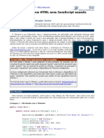 GU - AJAX Em Java Sem HTML Nem Javascript Usando