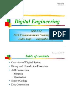 Digital Engineering Digital Engineering: 2007 7 24 NHK