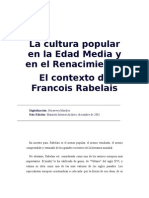 Bajtin, M - El Contexto de Francois Rabelais