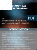 Exhaust Gas Re Circulation Presentation