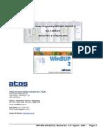 Manual PLC ATOS 4004 + Winsup2
