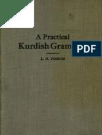 Practical Kurdish Grammar