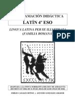 4ESO Programacion Didactica Latin Andalucia