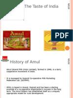 Amul – The Taste of India