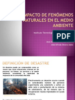 Desastres Naturales [Autoguardado]