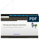 How to plan for your dissertation?