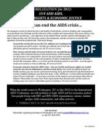 aids Platform November