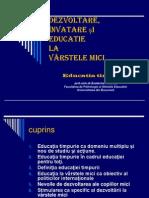 Copy of Educatia Timpurie