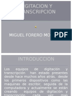 DIGITACION Y TRANSCRIPCION (1)
