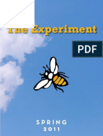 The Experiment - Spring 2011 Catalog