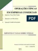 Impostos e Taxas s. Vendas - ICMS A