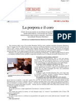 Bartolucci intervista
